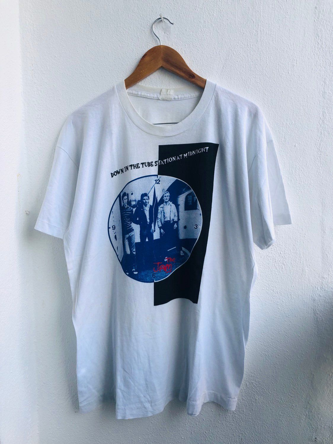 Vintage The Jams Mod Revival Down In The Tube Station Etsy Rock T Shirts Movie T Shirts Used Clothing