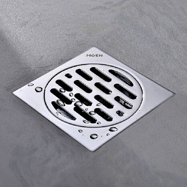 Hanebath Ql120402i Linear Shower Floor Drain With Tile Insert Grate Made Of Sus304 Stainless Steel 12 Inch Long Bru Shower Drain Grid Shower Shower Drains