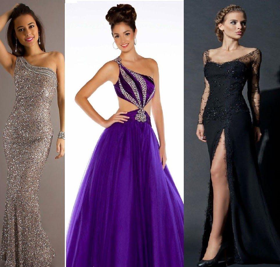 VESTIDOS DE NOCHE ELEGANTES | vestidos | Pinterest | Vestidos de ...