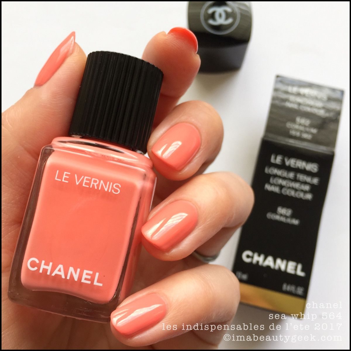 CHANEL LE VERNIS CRUISE COLLECTION SUMMER 2017 SWATCHES | Swatch ...