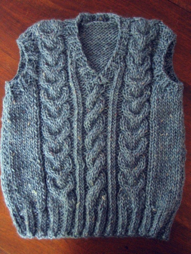 modele tricot debardeur homme gratuit