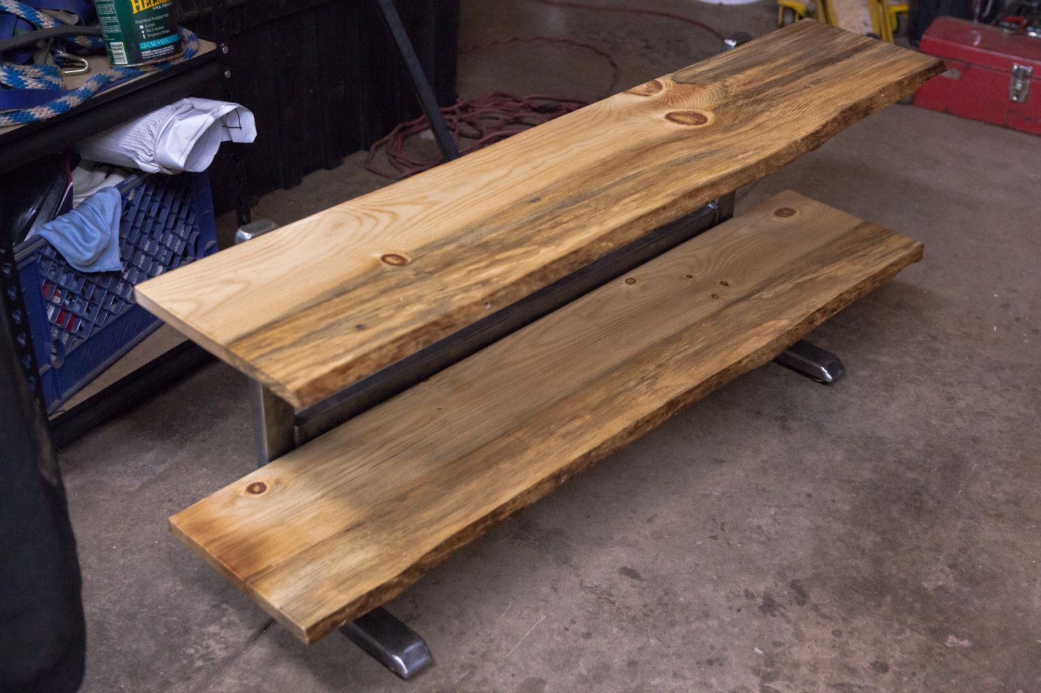 T V Stand Console Table Live Edge Pine Live Edge Table Industrial Tv Stand Diy Tv Stand