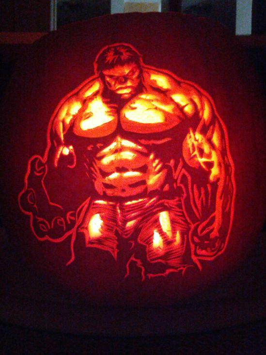 pumpkin template hulk  Hulk Smash Pumpkin ... should put my face on this and my 7 ...
