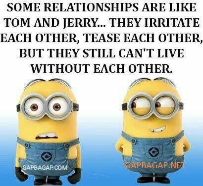 Funny Minion Joke About Relationships Minion Jokes