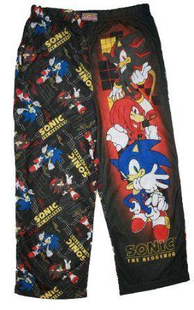 fa45bcf3fa8c Sonic the Hedgehog Boys Pajama Pant