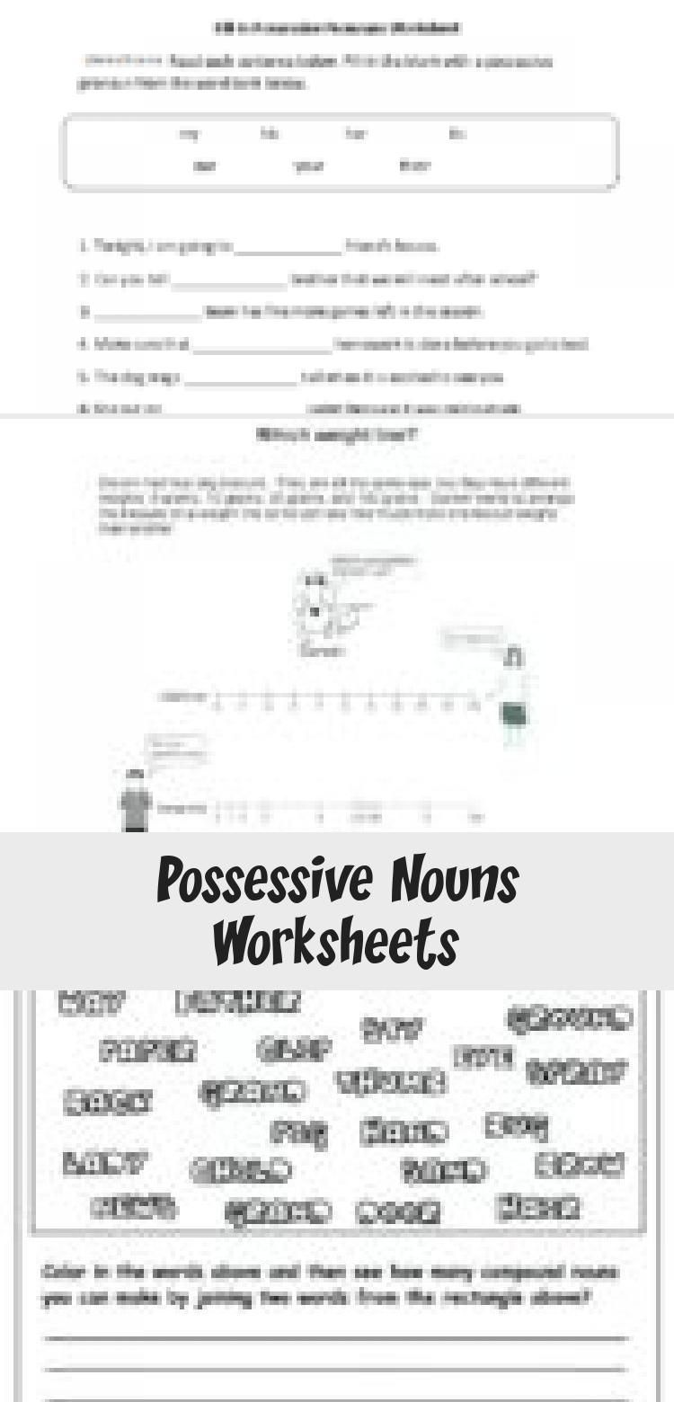 5 Noun Lessons You Need To Teach In 1st Grade Part 2 Possessive Nouns Worksheets Nouns Lesson Nouns Worksheet