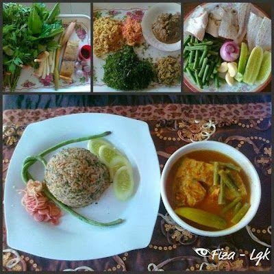 Nasi Ulam Kedah Resep Masakan Makanan Resep Makanan