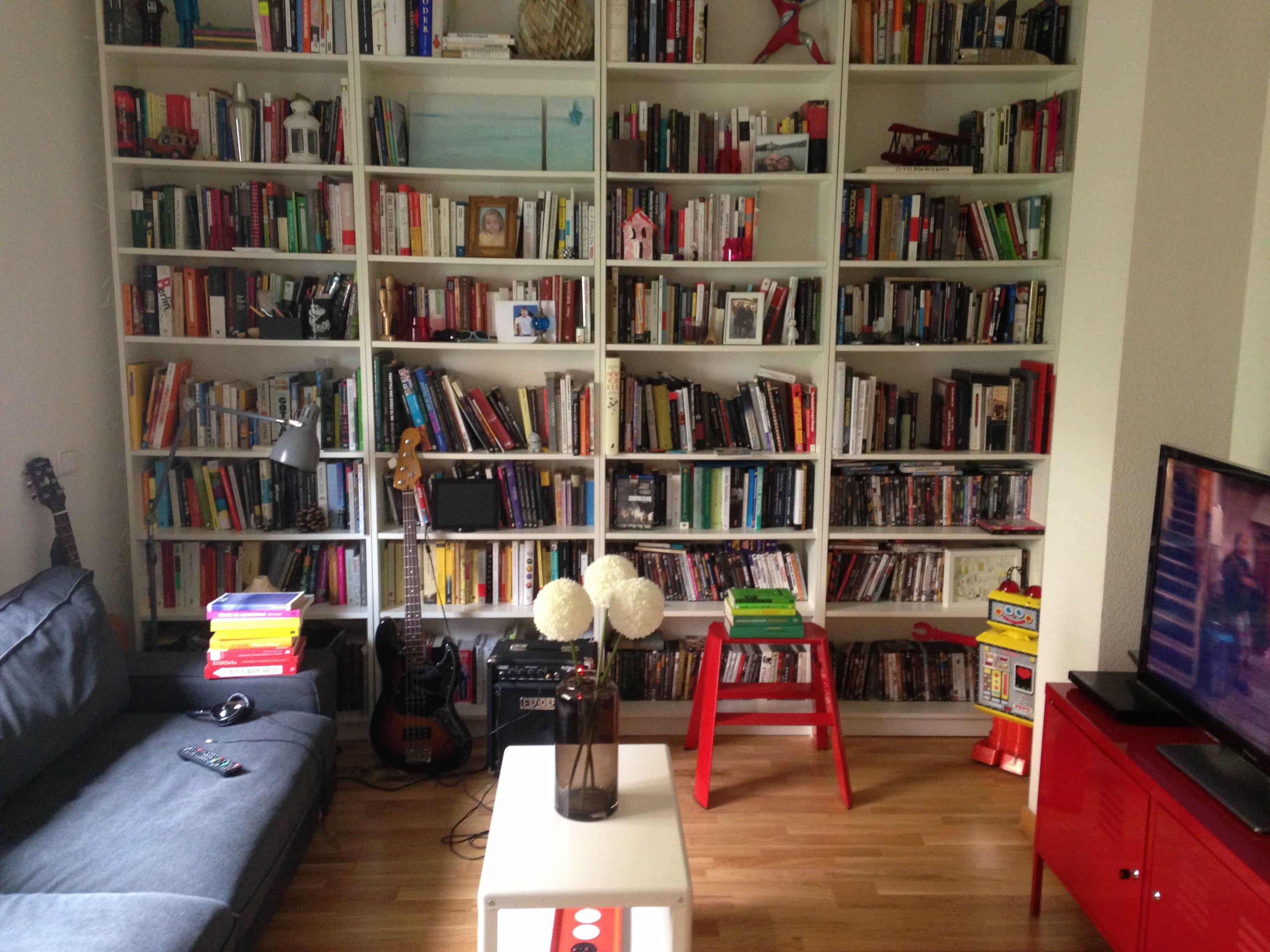 Prob Need Like 2 Full Walls Of This Bookshelves In Living Room Wall Bookshelves Large Bookshelves
