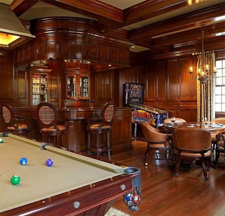 A Poker Table Will Turn Your Man Cave into a MAN Cave (28
