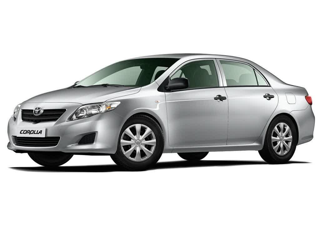 Toyota Corolla Sedan Silver Color Car Picture Site Pinterest