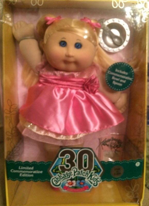 Nib Fao Exclusive Cabbage Patch Doll 30th Anniversary 20 Inch Collector Kid Dm Cabbage Patch Dolls Cabbage Patch Cabbage Patch Kids