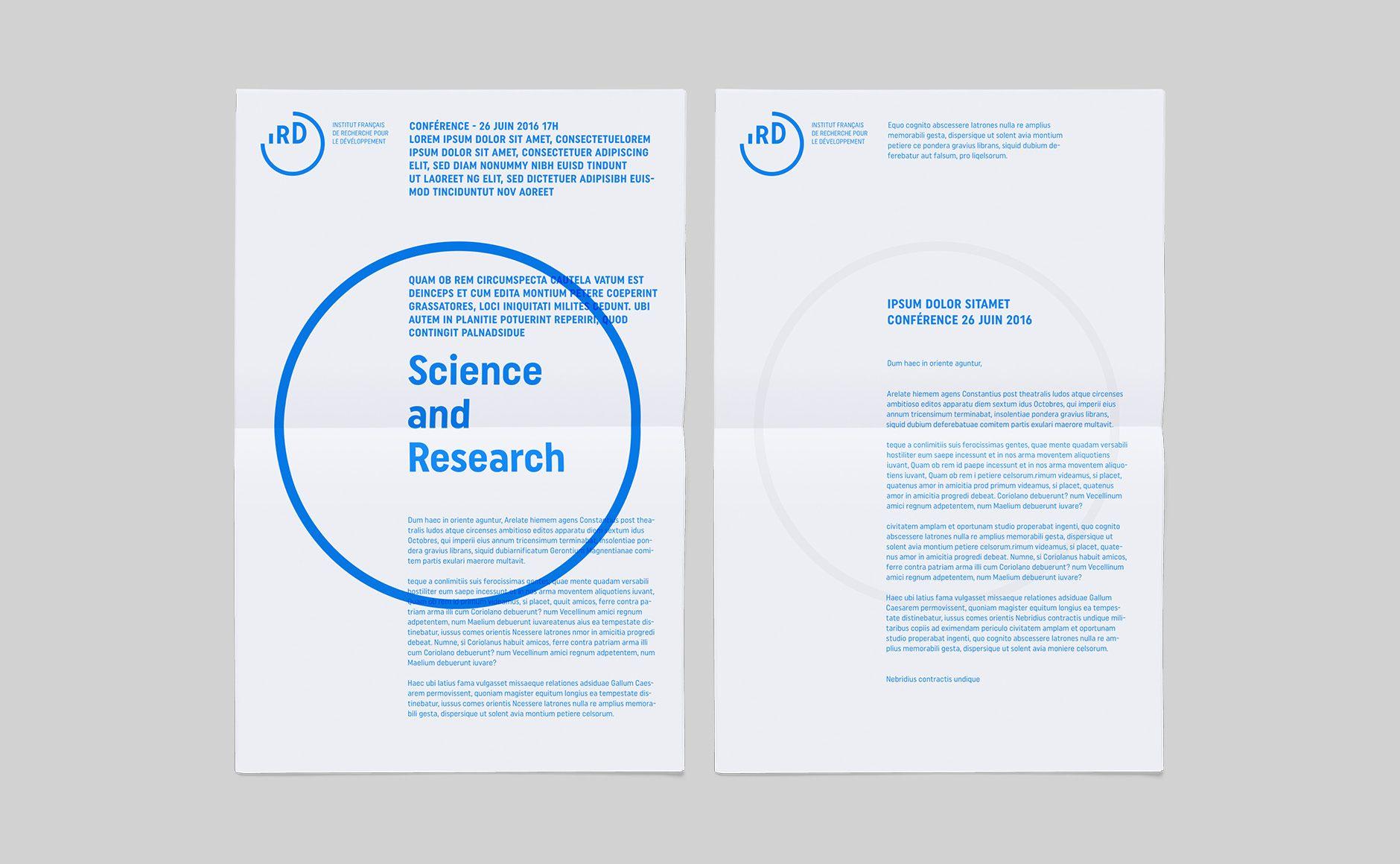 IRD - Institut de Recherche pour le Développement - Graphéine - Agence de communication Paris Lyon