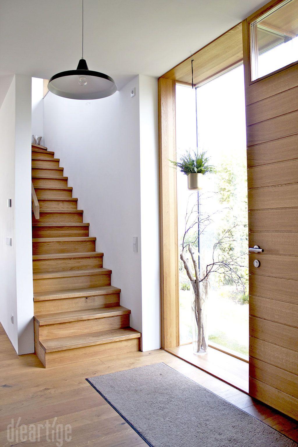 eingangsflur eichentreppe haust r pinterest. Black Bedroom Furniture Sets. Home Design Ideas
