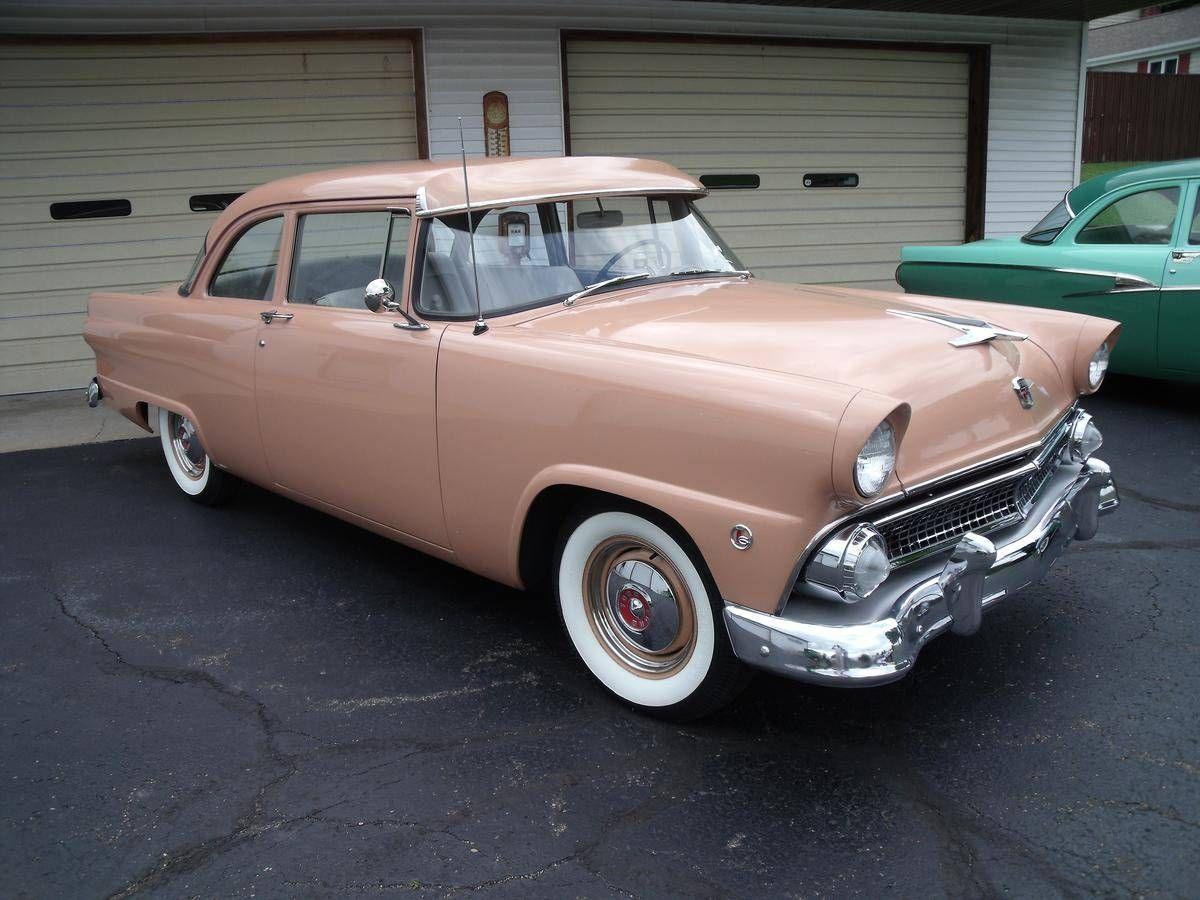 1955 Ford Mainline | Ford | Pinterest | Ford, Cars and Custom cars