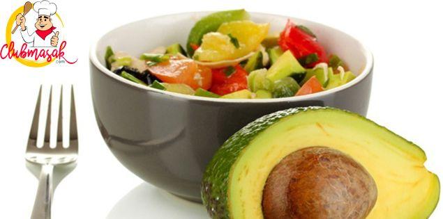 Resep Hidangan Buah Salad Saus Avokad Salad Buah Segar Club Masak Makanan Sehat Salad Alpukat Buah Segar