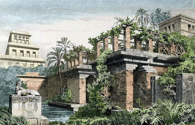 Hanging Gardens Of Babylon 7 Ancient Wonders The World