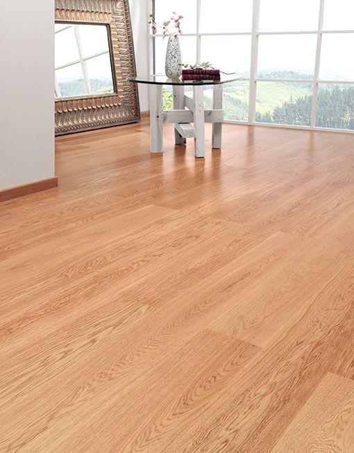 Duela de madera de roble natural deckora m xico pisos - Duelas de madera ...