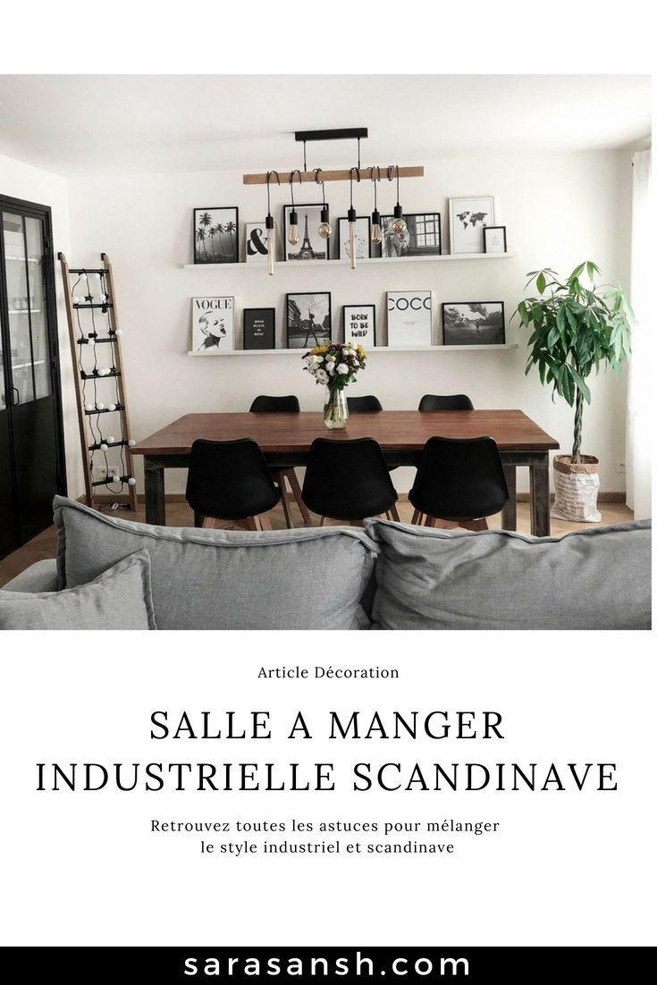 Salle à Manger Industrielle Scandinave