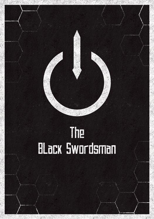 Kirito The Black Swordsman By Justtomtom On Deviantart Sword Art