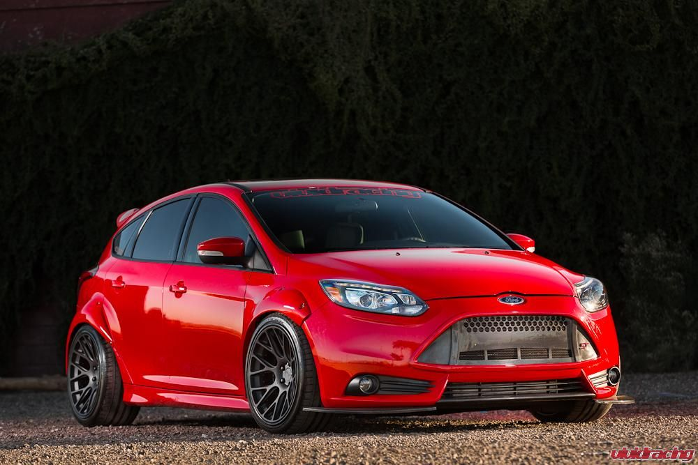 ford focus st - 2014 Ford Focus St Red