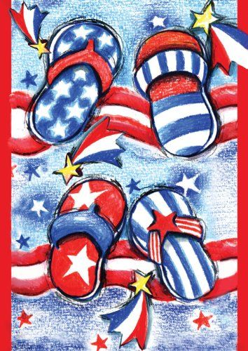 Get Ready For The 4th Of July Toland Home Garden 112608 Usa Flip