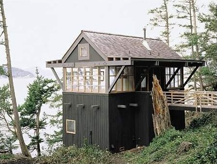 Architect Visit Miller Hull Abode Pinterest Cabin House And