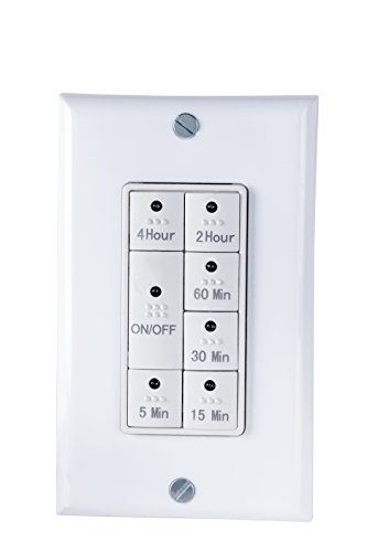 Century Countdown Digital In Wall Timer Switch Timer Plates On Wall Electrical Switches