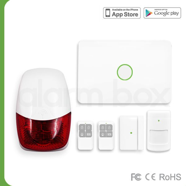 868MHz GSM Alarm Box S1 with outdoor siren If you want to