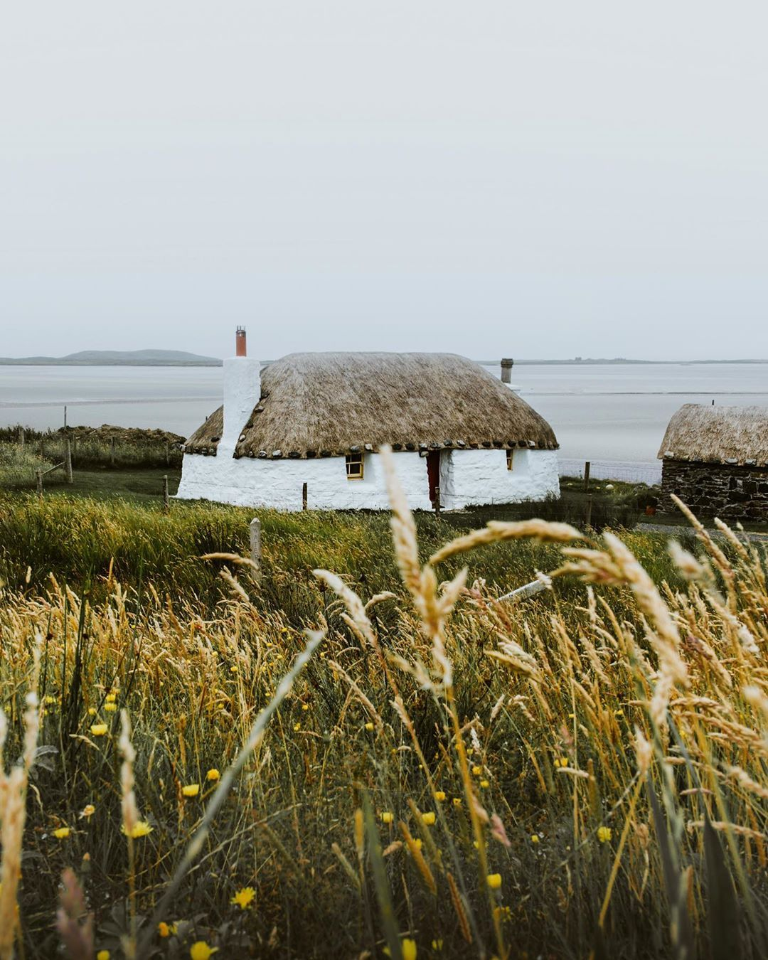 """mARTa on Instagram: """"Another island of Outer Hebrides-North Uist �From there you can drive down to South Uist and you have the road to yourself! Locals always…"""""""