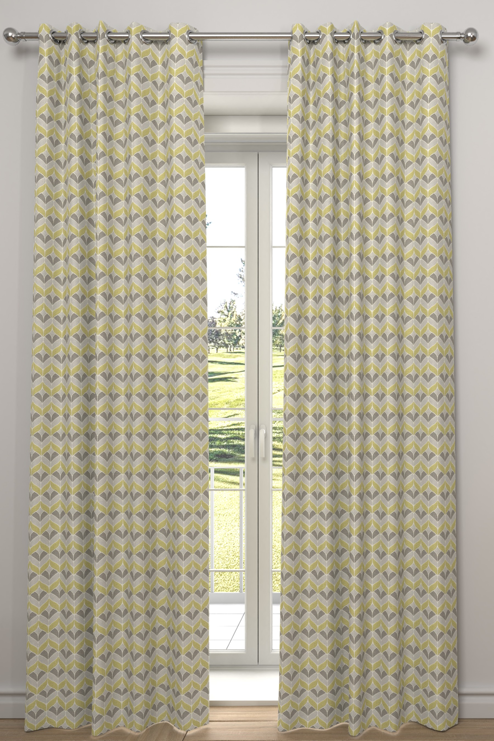 Varese Zest Yellow Made To Measure Curtains Made To Measure