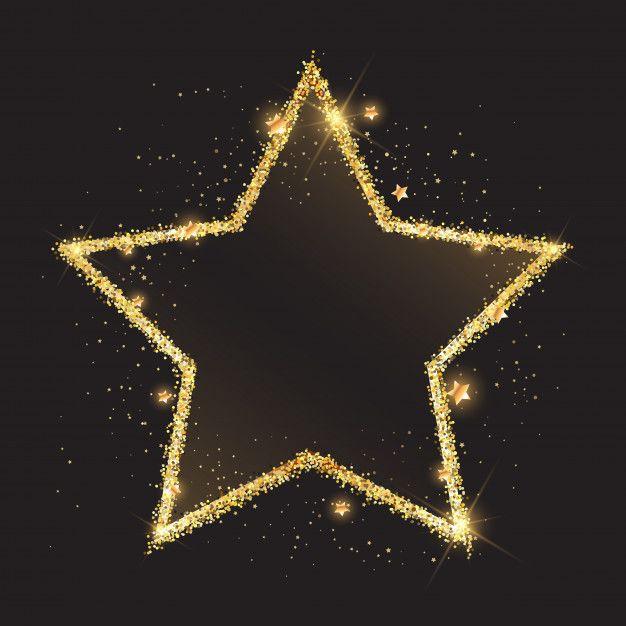 Download Glittery Gold Star Background For Free Sterne Bilder Profilbilder