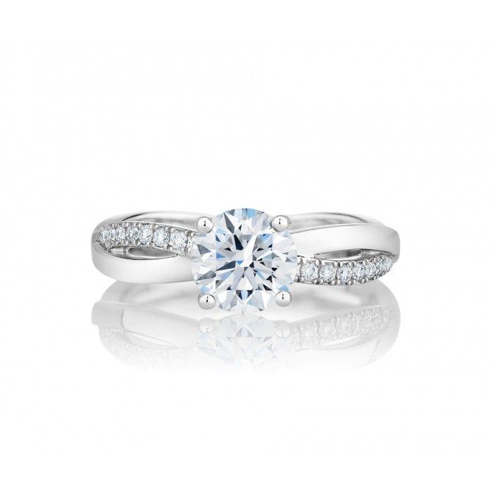 Infinity Engagement Ring | De Beers