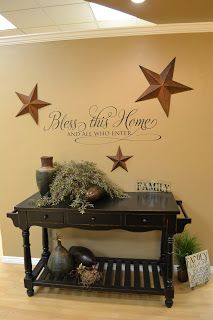 Primitive Country Living Room Colors Furniture Cheap Prices Vinyl 4 Decor Charm Pinterest Paint Walls Flow And Dining
