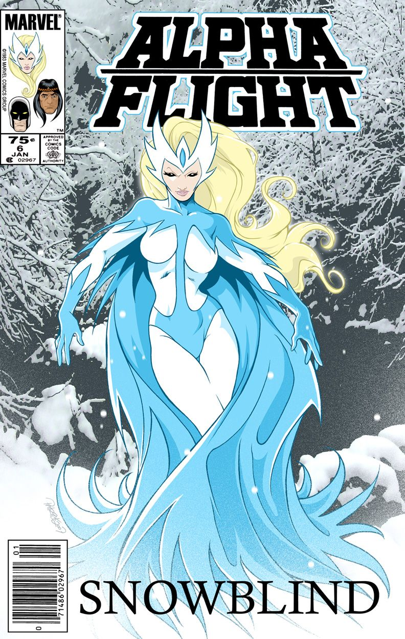 alpha flight marvel | Some love for Alpha Flight's Snowbird