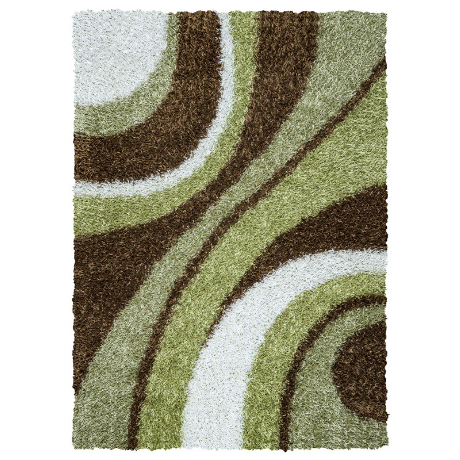 Rizzy Home Kempton Km2323 Indoor Area Rug Green Brown White
