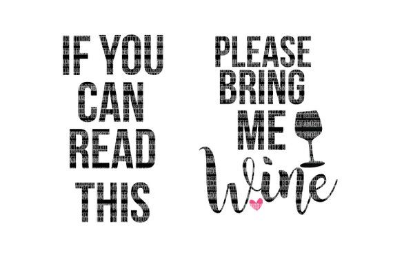 Download cute wine svg for socks | if you can read this please ...