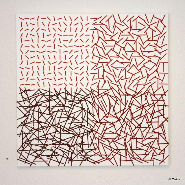 Epingle Par Intaglio Sur Vera Molnar 1924 Peinture Art Abstrait Contemporain Art