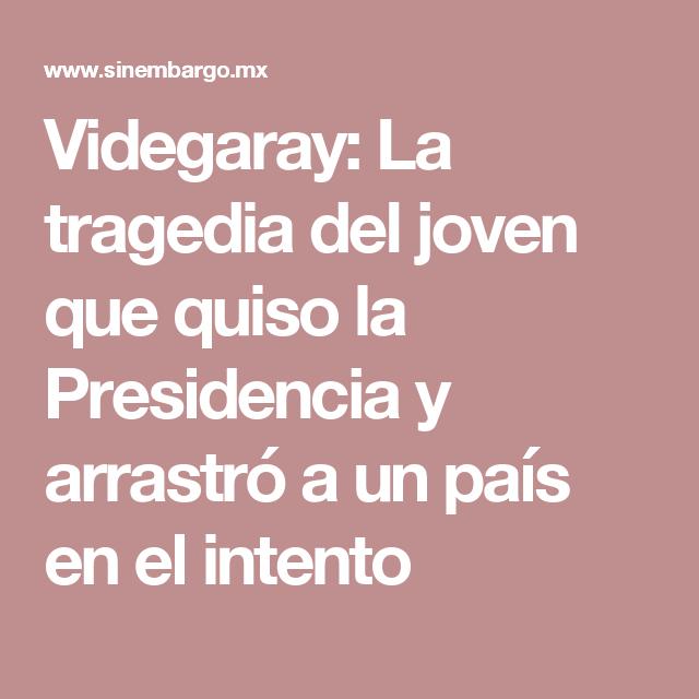 Videgaray: La tragedia del joven que quiso la Presidencia y arrastró a un país en el intento