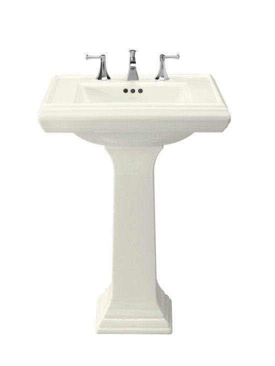 Kohler Memoirs Pedestal Sink Square Design Pedestal Sink Sink