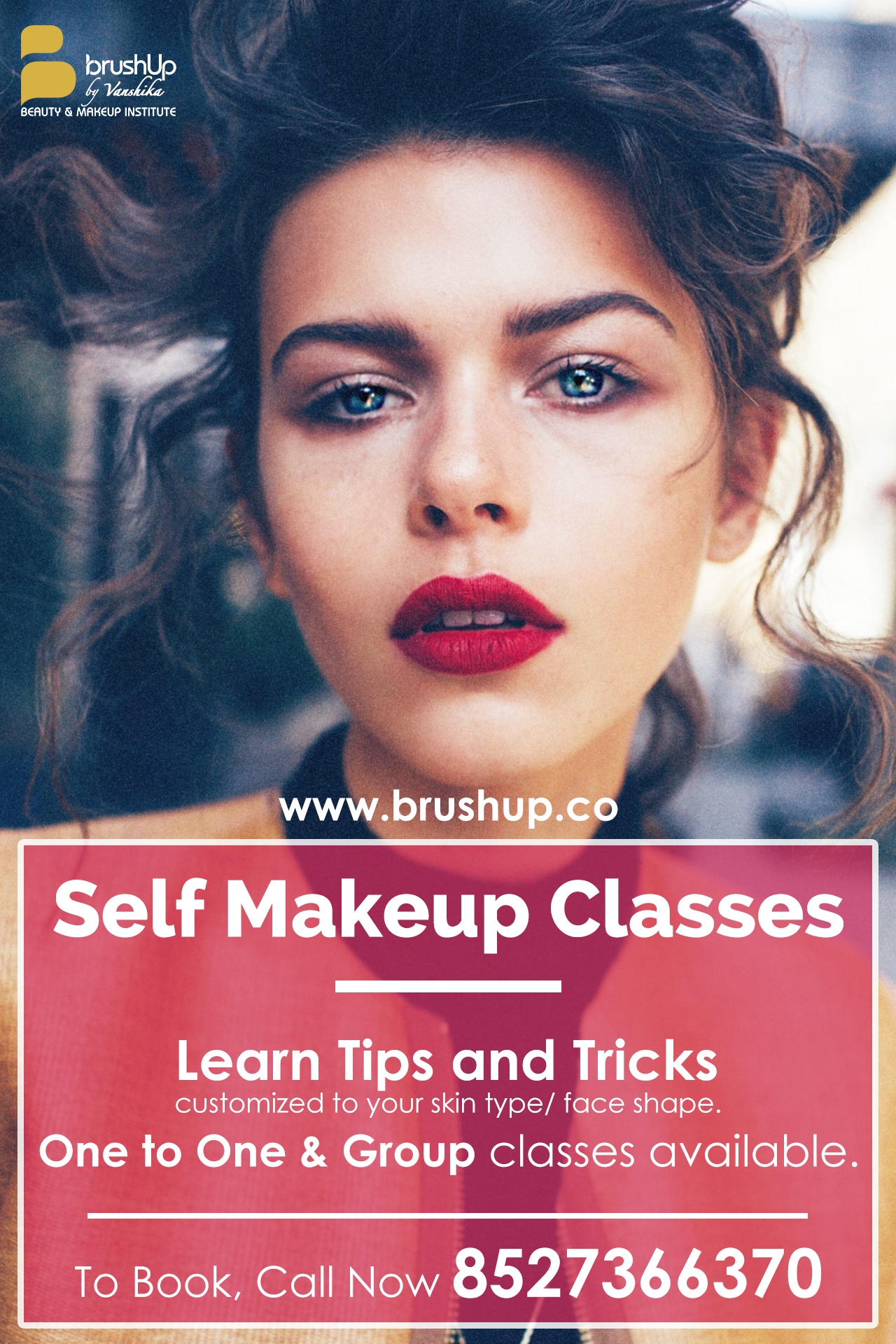 Professional Makeup Classes in Gurgaon Vanshika chawla