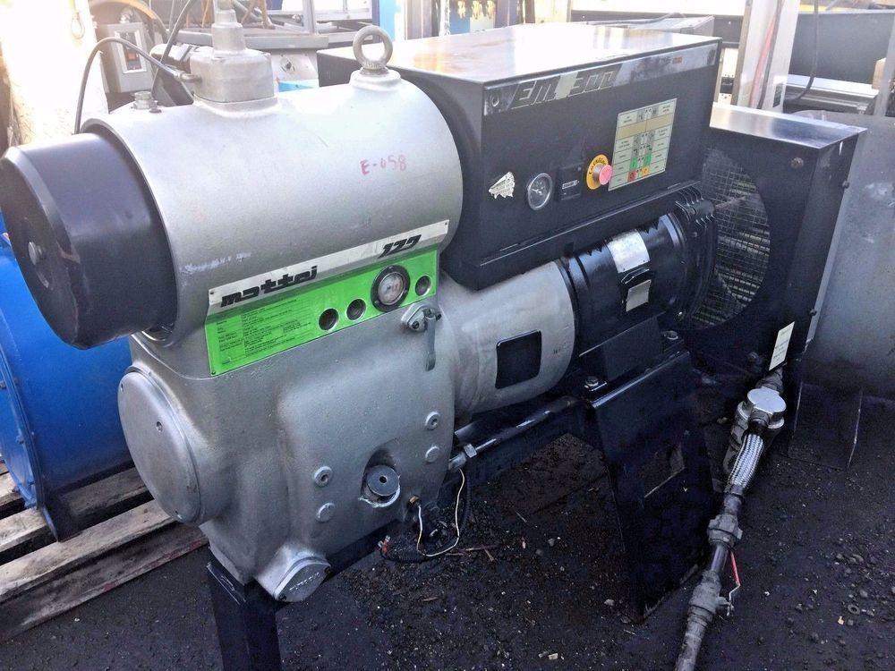 mattei 30hp rotary screw air compressor em 300 series air rh pinterest com Mattei Compressor Distributors Mattei Compressors Big