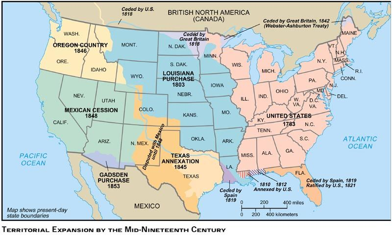 Territorialexpansionmidsjpg Westward Expansion - Animated map of us expansion