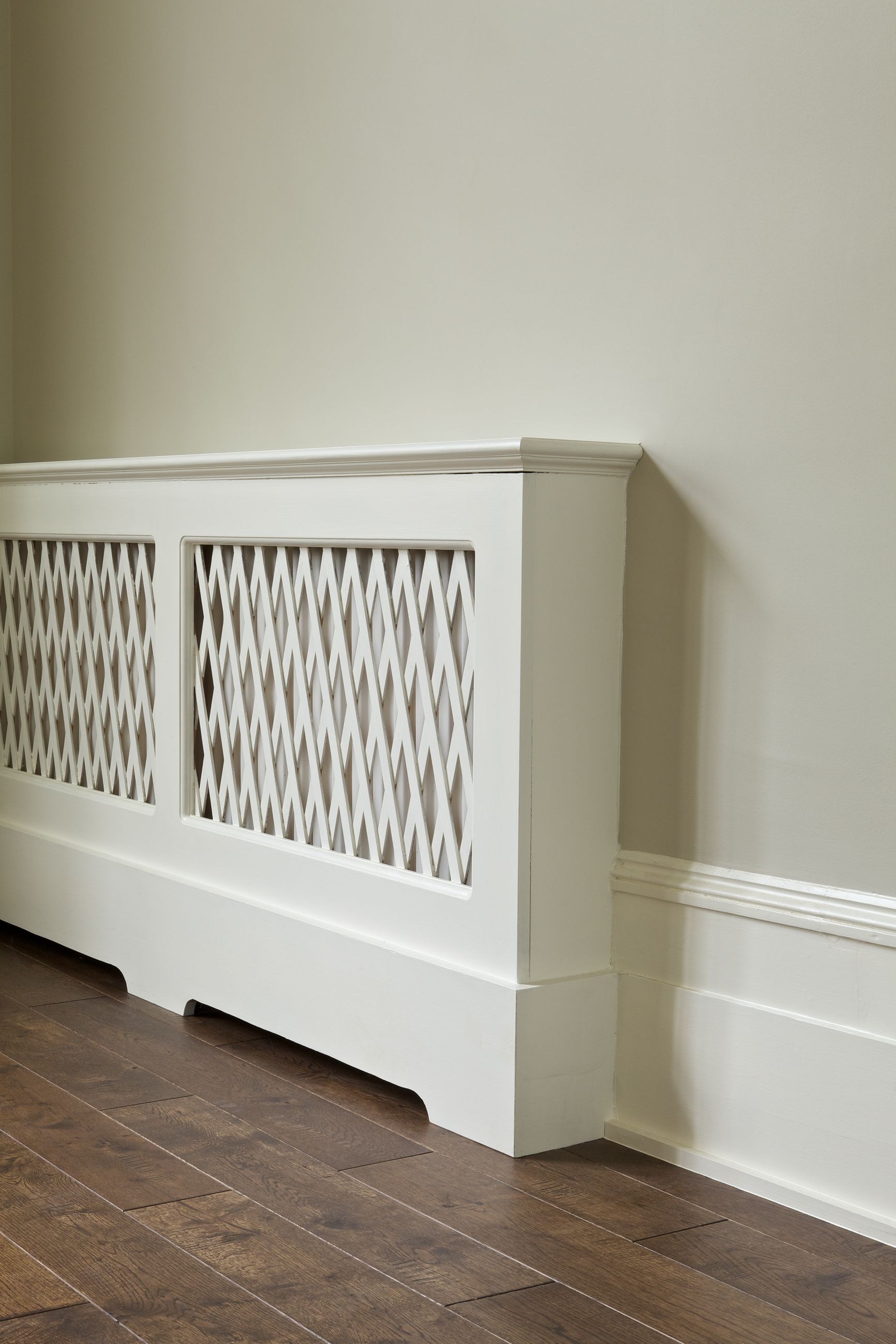 Radiator Cover In Farrow & Balls Wimborne Whitelove, Love This