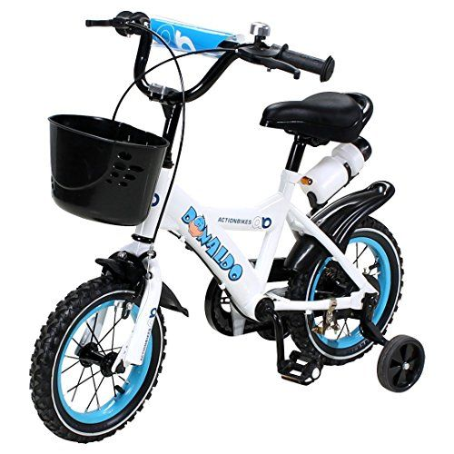 Actionbikes Kinderfahrrad Donaldo Ab 3 Jahren 12 Zoll Blau Kinder Mdchen Jungen Fahrrad Kinder Fahrrad Kinderfahrrad Fahrrad