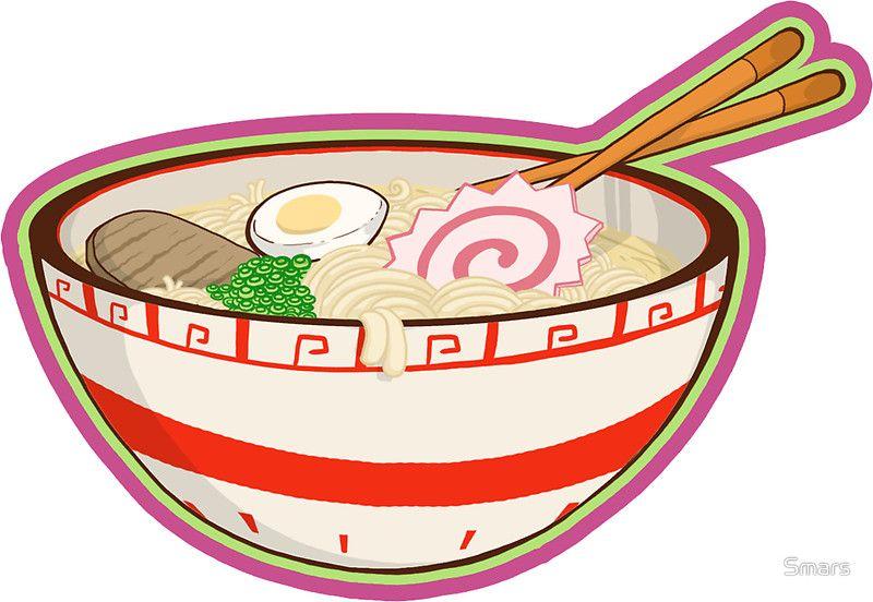 anime ramen bowl set