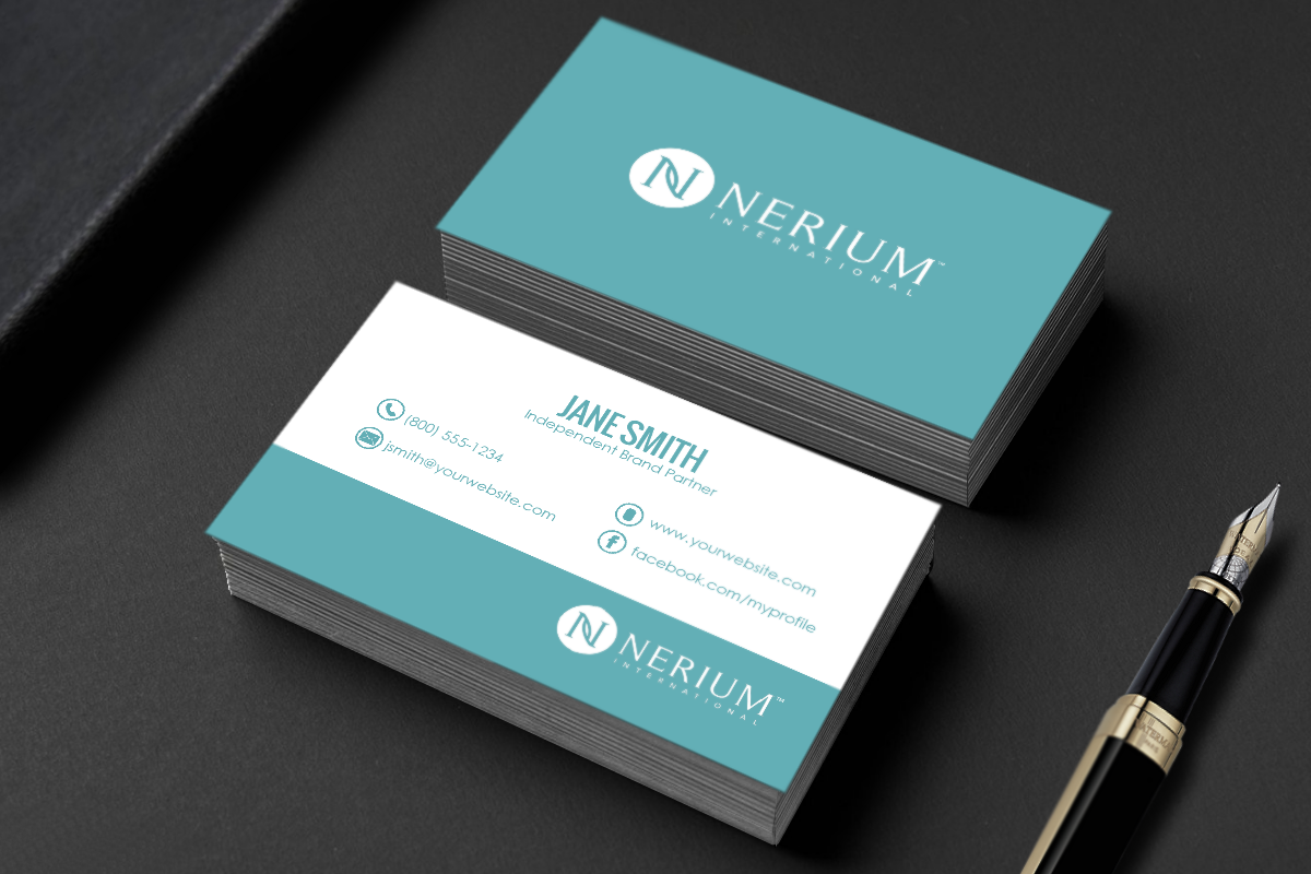 Pin On Nerium Business Cards