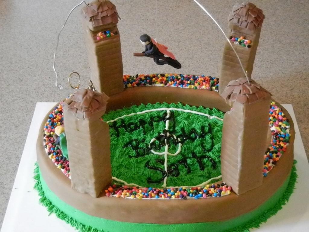 Easy Harry Potter Birthday Cakes Ideas Platform 9 34 Pinterest
