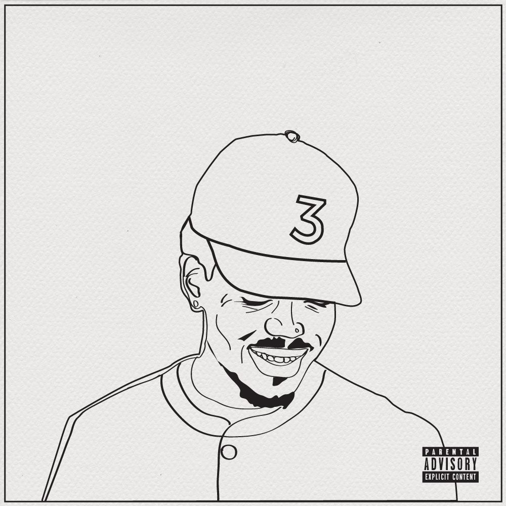 Download A Free Coloring Book Based On The Lyrics From Chance The Rapper S New Mixtape Free Download Chance The Rapper Art Coloring Books Rapper Art