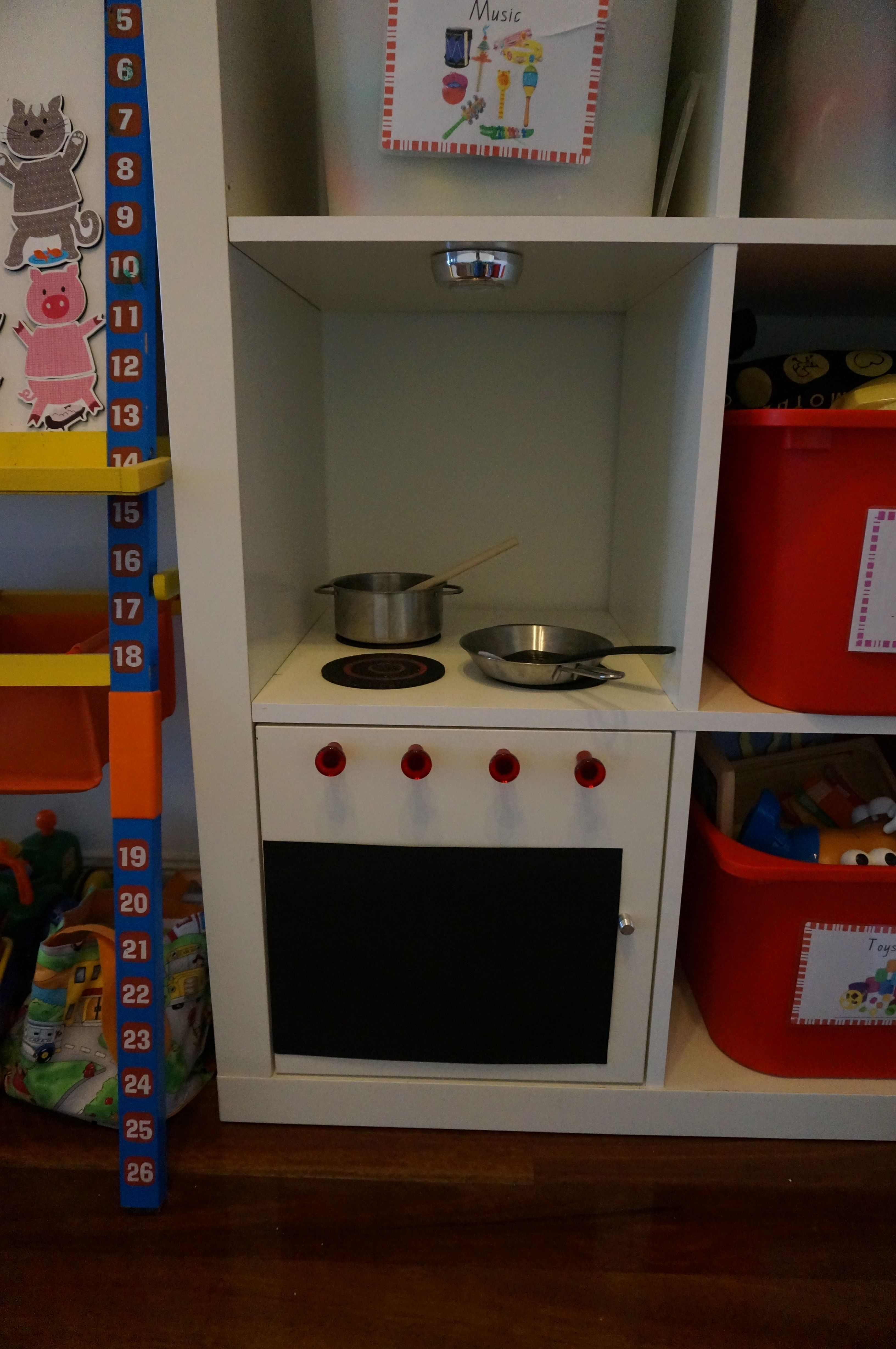 Ikea Hack Expedit Becomes Play Kitchenjust Add Door Kitchen Captivating Kitchen Knobs Inspiration Design