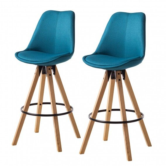 Chaises De Bar Aledas Ii Lot De 2 En 2020 Chaise Bar Chaise Haute Cuisine Chaise De Bar Scandinave